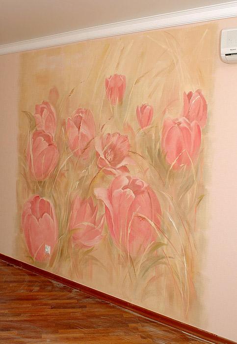 Роспись в квартире своими руками
