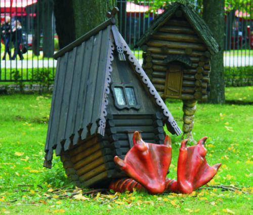 Избушка на курьих ножках в сад